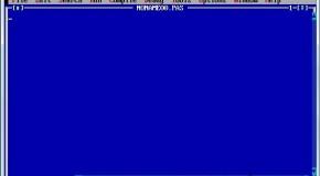 استفاده از Turbo Pascal بر روی ویندوز ۷ نسخه ۶۴ بیتی